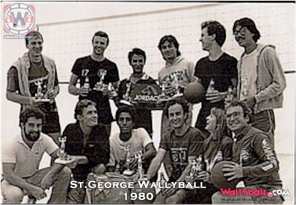 ST.GEORGE WALLYBALL 1980